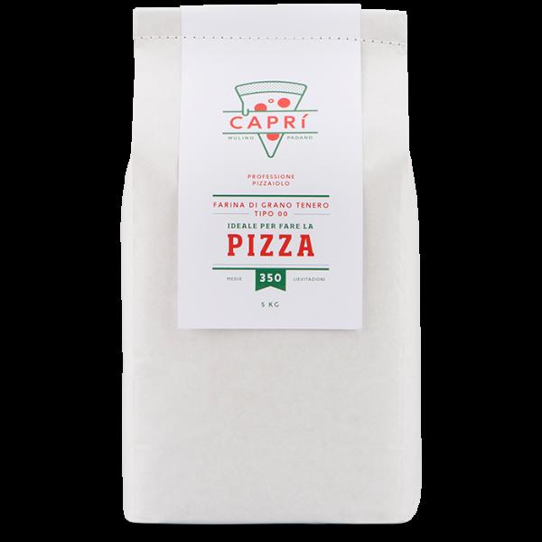 5kg Capri 350 farina per pizza medie lievitazioni