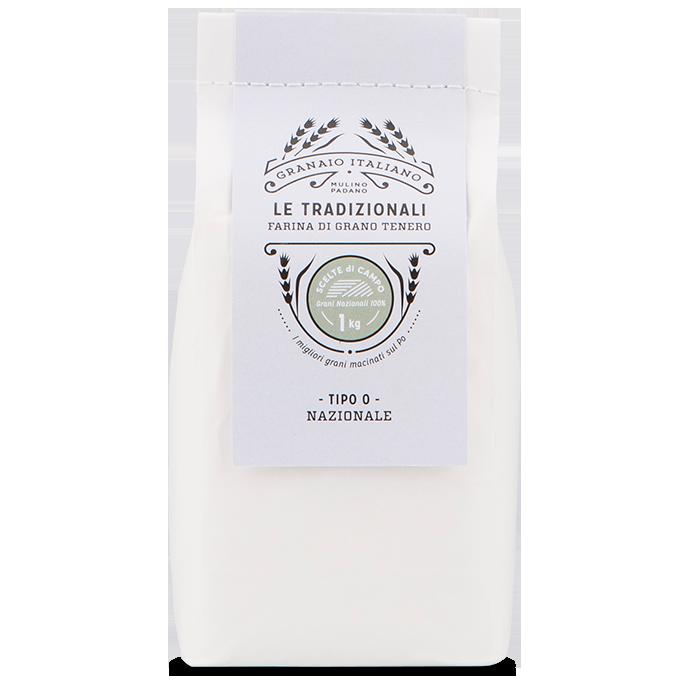 1kg Scelte di Campo type 0 Nazionale Flour