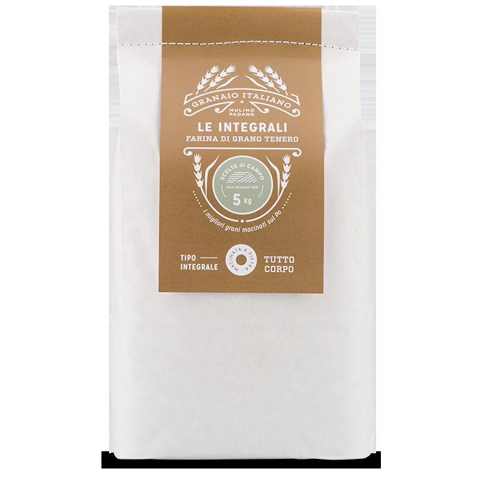 5kg Scelte di Campo Whole Wheat Stone-ground Flour