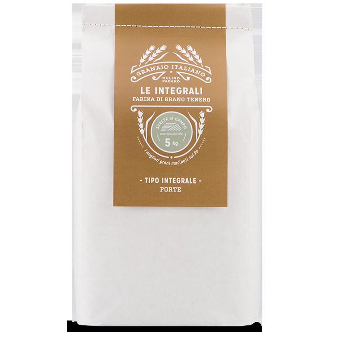5kg Scelte di Campo Forte Whole Wheat flour