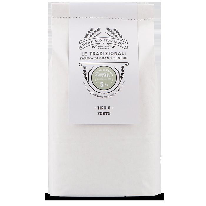 5kg Le Tradizionali farina 0 Forte