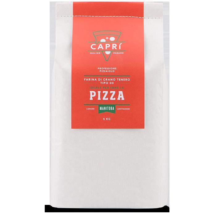 5kg Capri Manitoba farina per pizza lunghe lievitazioni