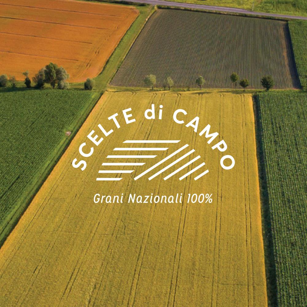 Scelte Di Campo - 100% Italian wheat with certified supply chain